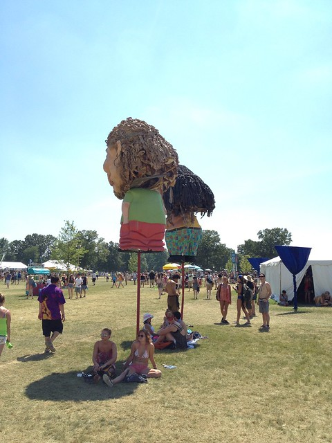 Bonnaroo 2013 - Bobble heads