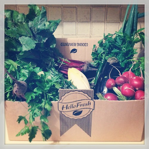 #junefoodphotos 20 | #healthy - the @winning_apps girls sent me home from @besthomechef w a whole box of Hello Fresh veggies! There will either be lots of meals or one enormous pot of soup...