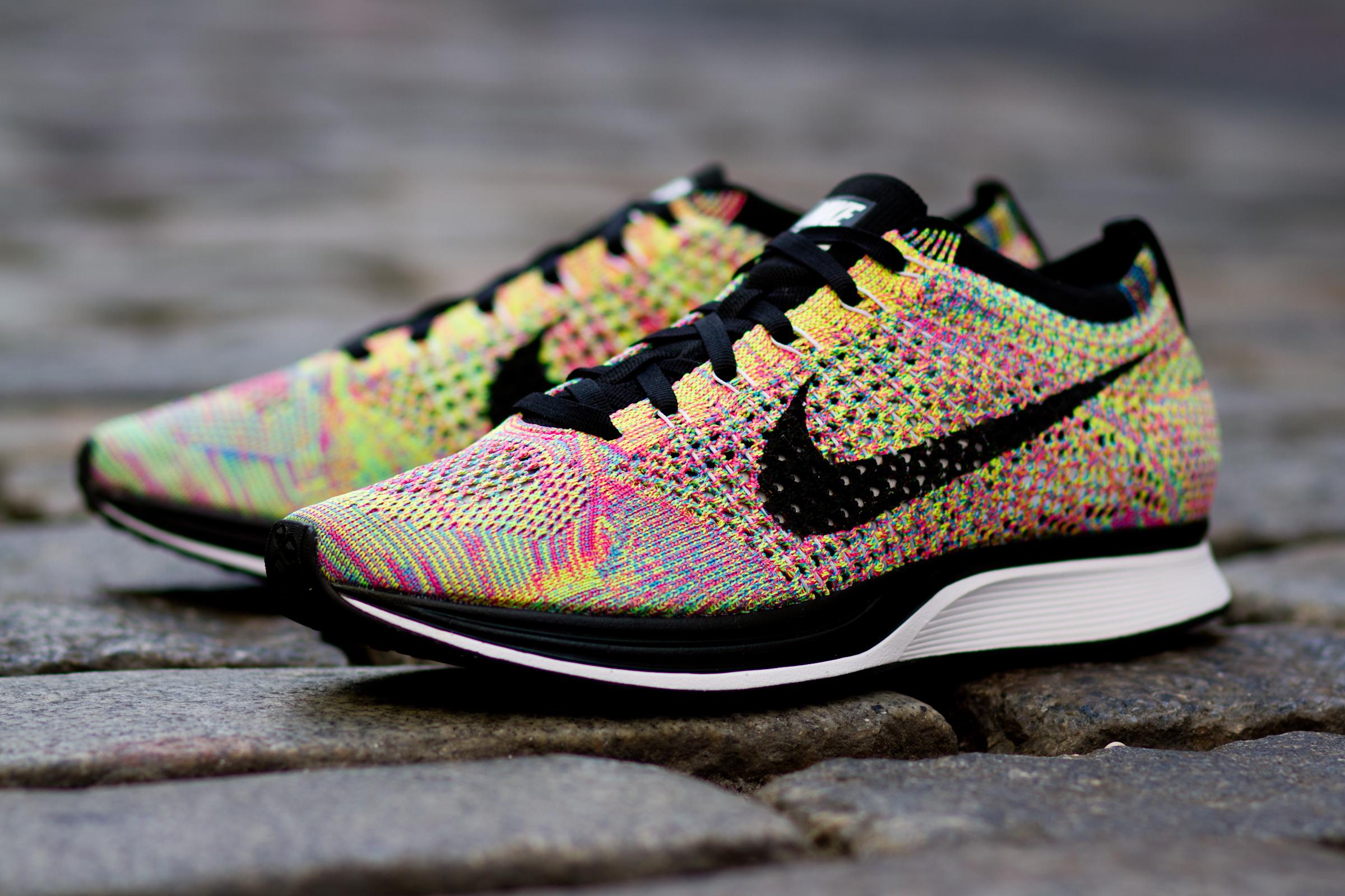 Nike Flyknit Multicolor Racer