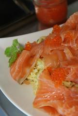 salmon, sashimi, fish, lox, food, dish, cuisine, smoked salmon,