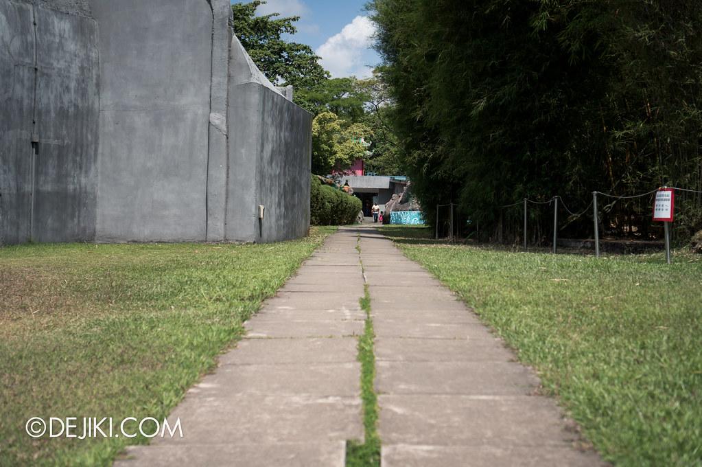 Haw Par Villa - exit to the living world