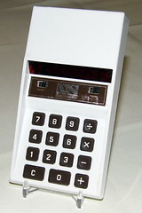 Vintage National Semiconductor Model 600 Pocket LED Calculator, Made in the USA, Circa 1973