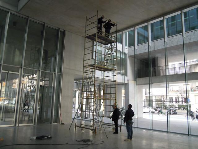2011 - Università Bocconi, Sit Specific, Filo a Piombo,  Milano