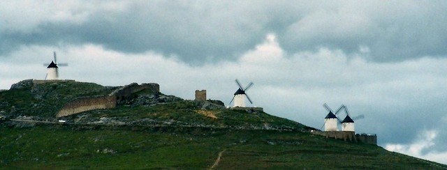 The windmills of La Mancha