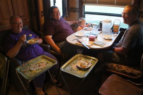 Emma: supper in south dakota!