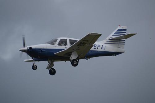 G-BFAI Rockwell Commander 114