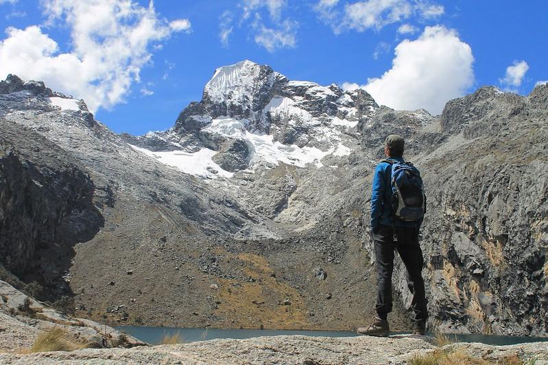 Nevado and Laguna Churup