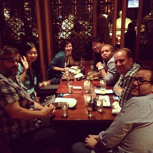 Inaugural #SXSWV2V sushi and fried chicken and Google Glass meetup!