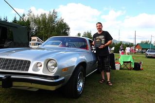 Y. Fugere et Chevrolet Camaro 1976 - Plus grande distance