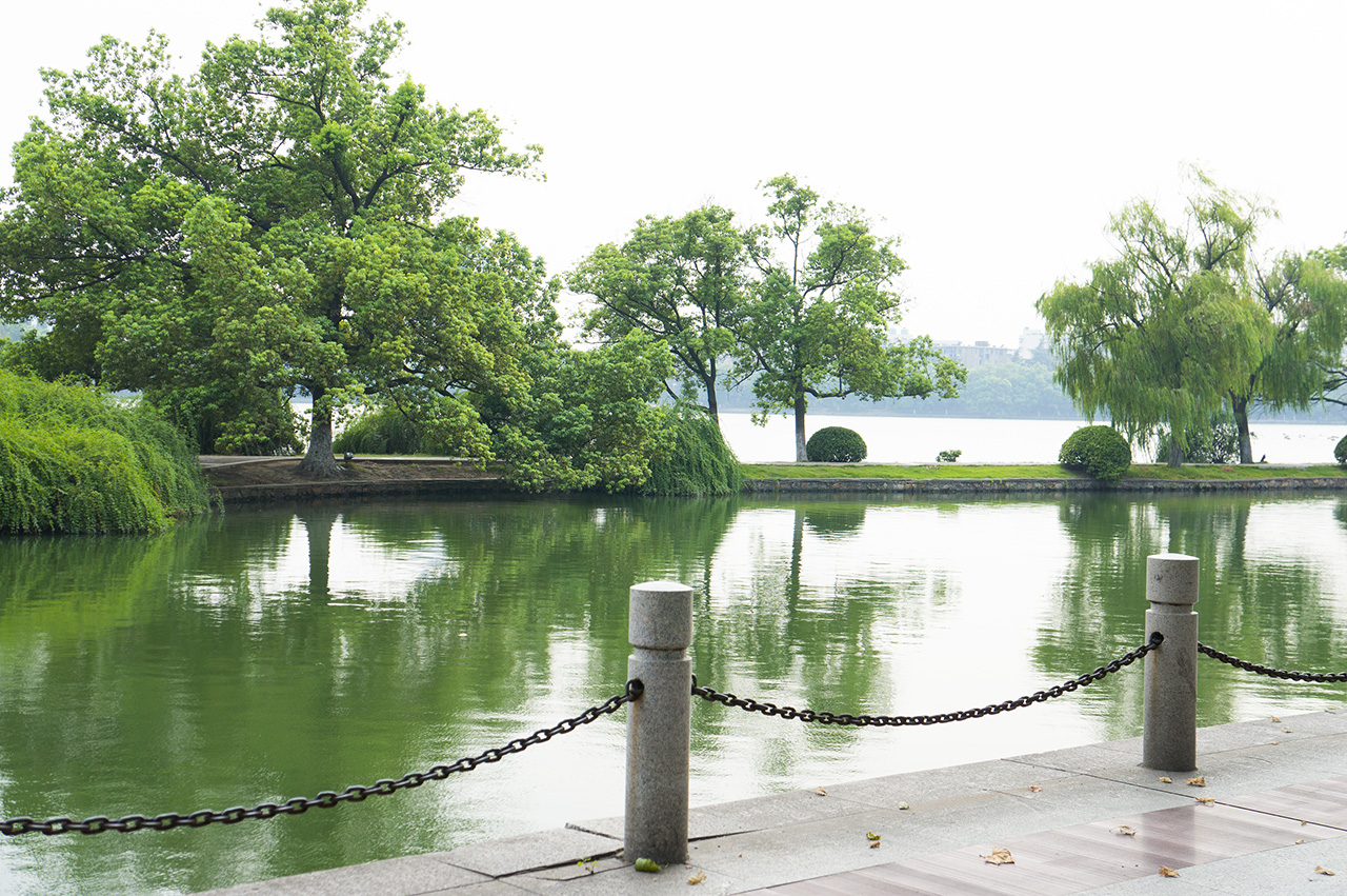 雨山湖图片