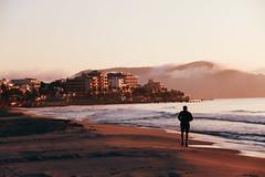 Sunrise at  Sant Llorenç beach
