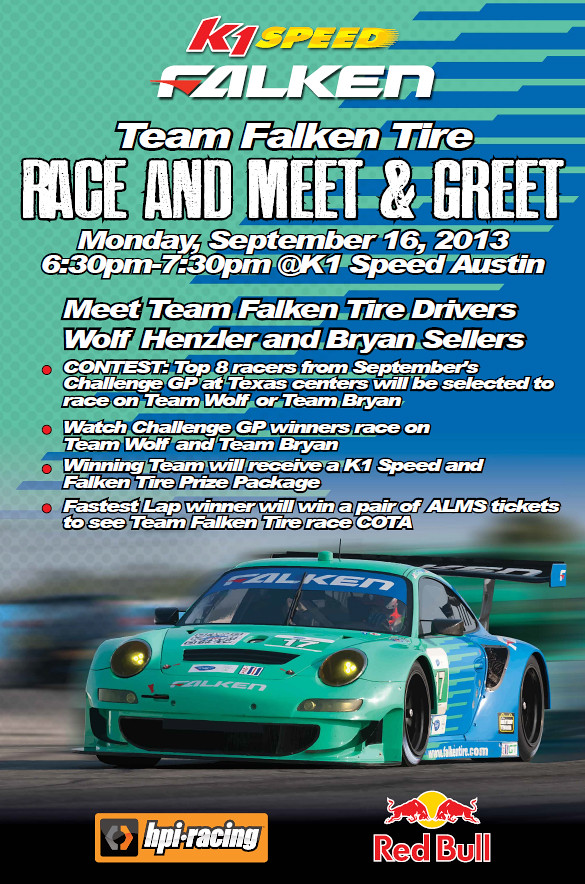 9598003399 c47ee91192 b ALMS // Team Falken Tire   Meet & Greet