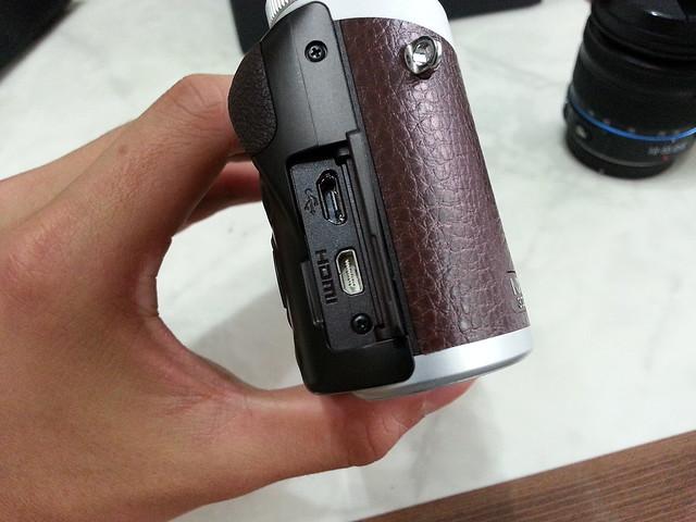 Samsung NX300 新相機開箱