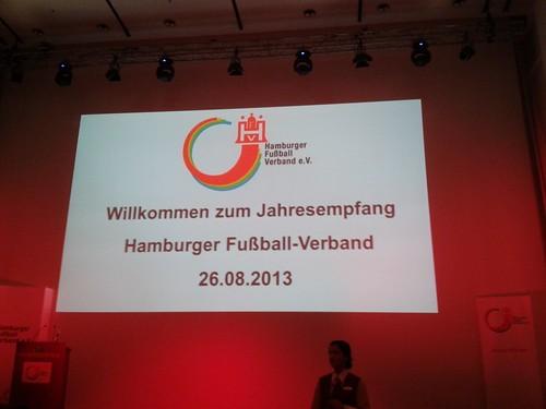 Jahresempfang des Hamburger Fußballverbandes 2013
