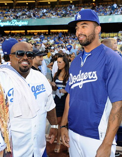 Ceelo and the Goodie Mob at the La Dodgers game