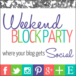 Weekend Block Party Blog Linkup