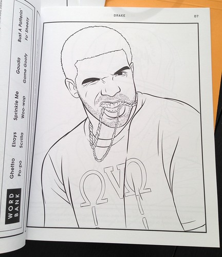 Things we love bun b x shea serrano s rap for Rapper coloring pages