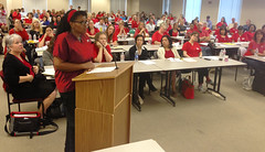 RN's Make a Powerful Showing at Cal/OSHA Hearing