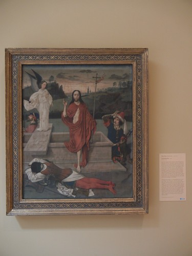 DSCN7683 _ The Resurrection, c. 1455, Dieric Bouts (1420-1475), Norton Simon Museum, July 2013
