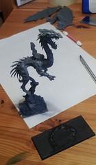 Dragon 2 less base and rider
