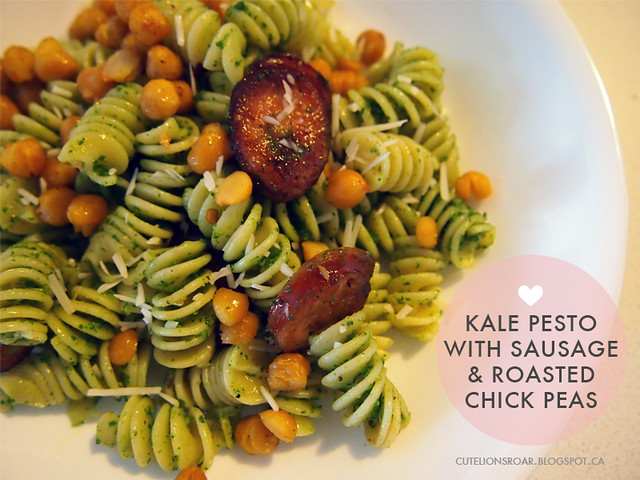 Let's Eat - Kale Pesto