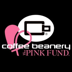 Coffee Beanery and The Pink Fund logo