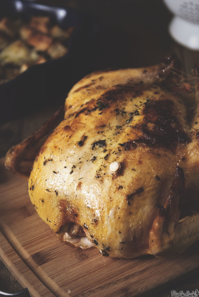 Mayo and Herb Roasted Chicken