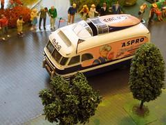 TOUR DE FRANCE Années 50-60 (1/43) Camion publicitaire ASPRO