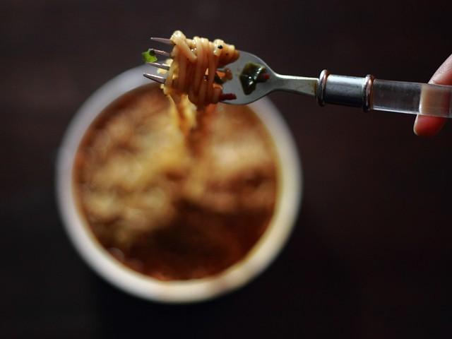 Noodles Shirataki Dukan con Pollo