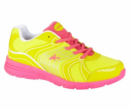 product review athletech l willow2 athletic shoe in neon