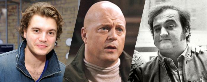 Emile Hirsch to play Michael Chiklis playing John Belushi from Keith