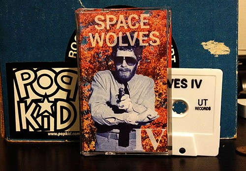 Space Wolves - IV Cassette by Tim PopKid