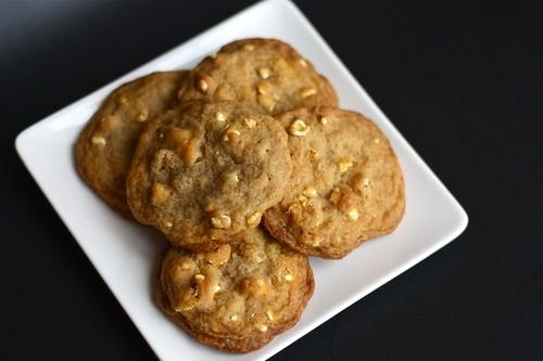 Buttered Popcorn Cookies {Guest Post by Strawberry Ginger} via LittleFerraroKitcehn.com