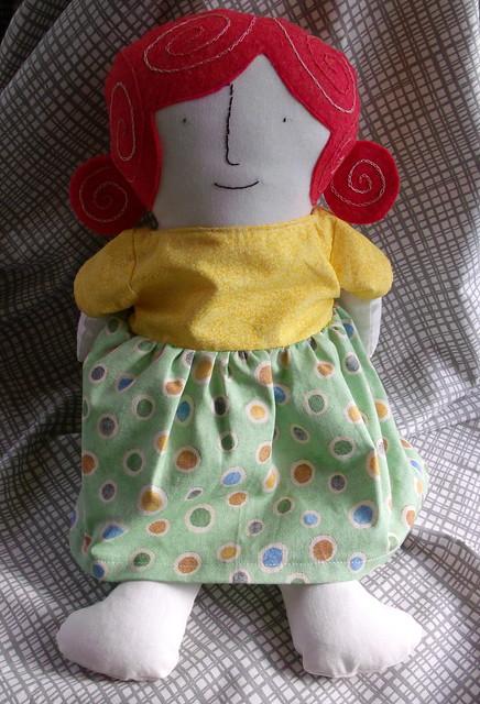 Violet doll dress