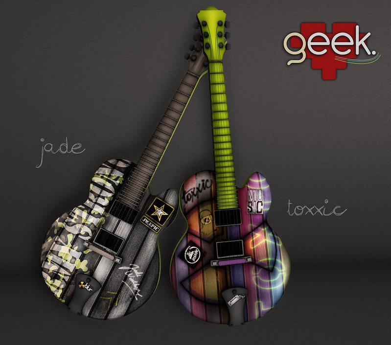 Jade/Toxxic Guitars Show Off