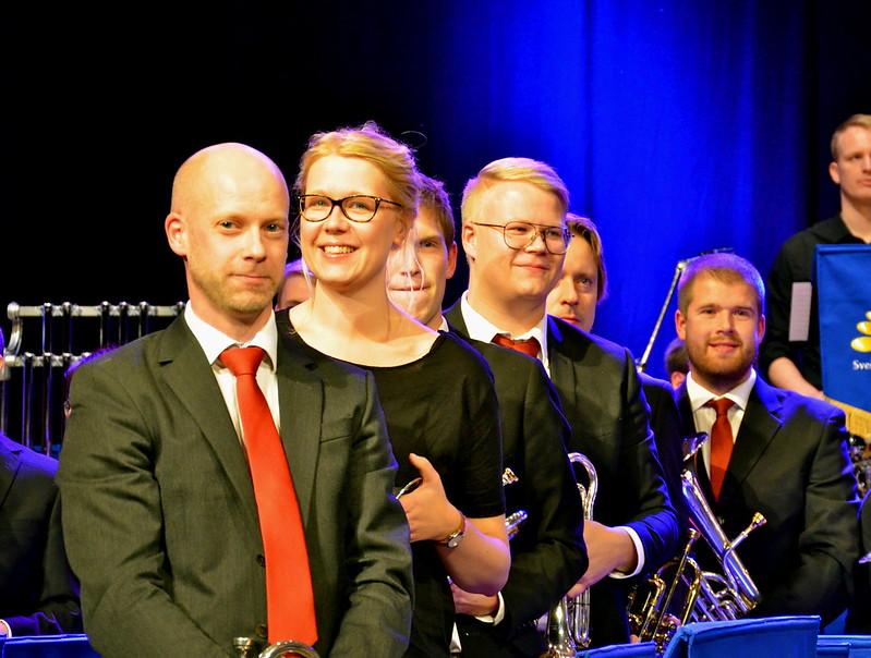 Brassbandfestivalen 2013 - solokornetter, Betlehemskyrkans Musikkår (Foto: Olof Forsberg)