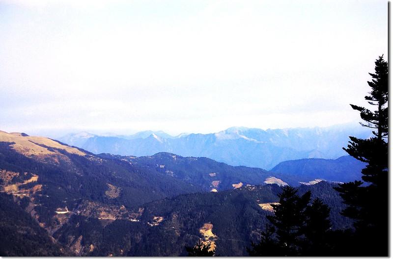 雪劍山系(From 屏風山)
