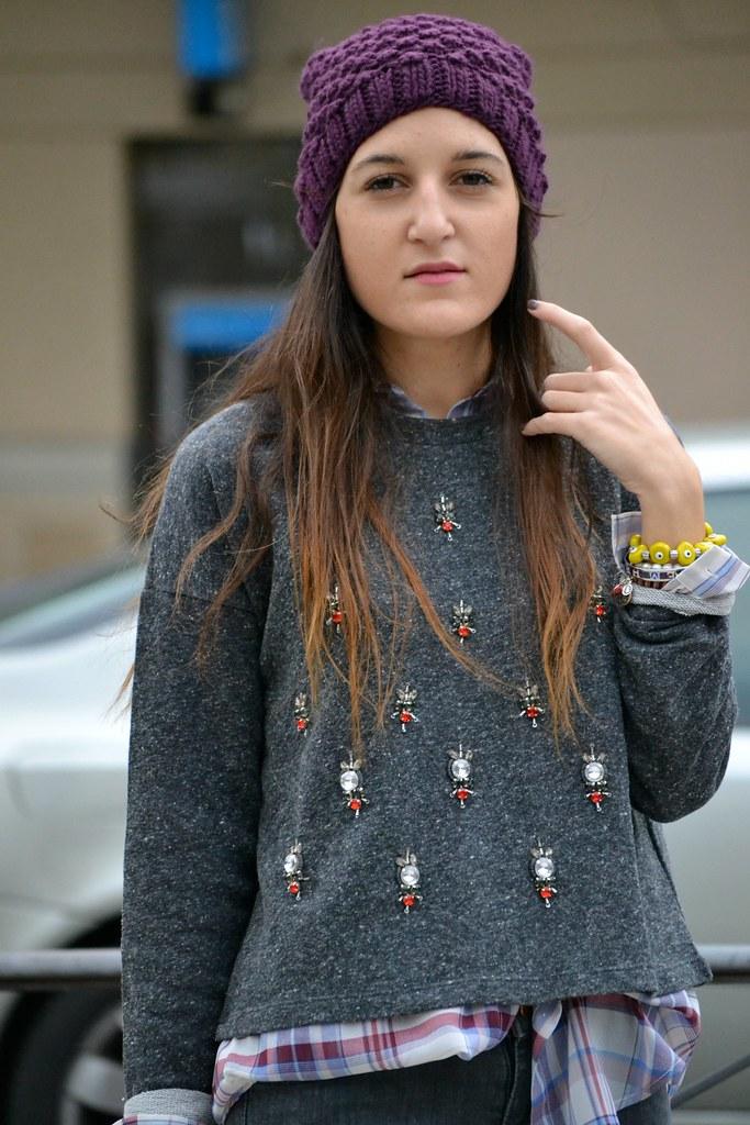 sweater bichos zara 3