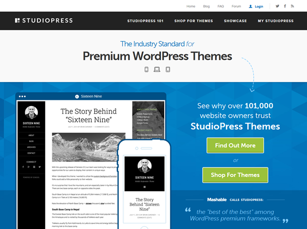 Top Premium WordPress Theme Designers