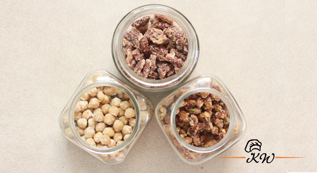 Sugar Coated Peanuts, walnuts, pecans, hazelnuts or almonds