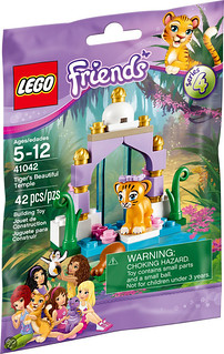 LEGO Friends 41042 - Tiger's Beautiful Temple