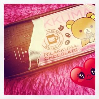 #Rilakkuma :) esto y otras cositas mas llegaron desde Japón #chocolate #cute