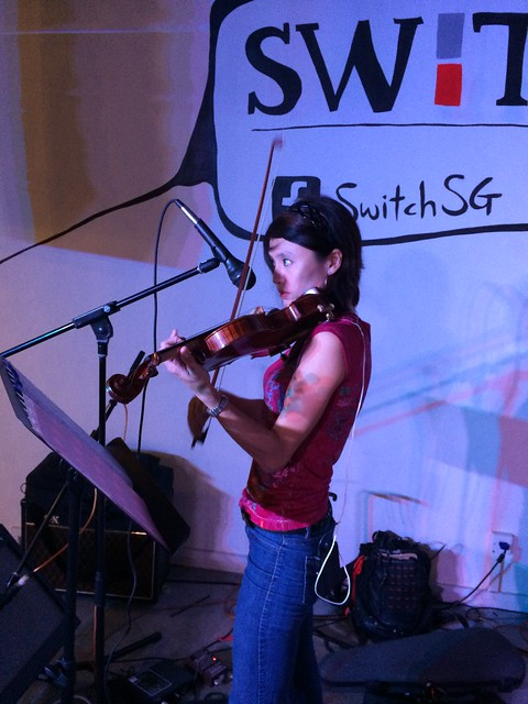 Eileen Chai on violin