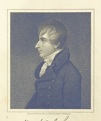 """British Library digitised image from page 10 of """"The Remains of Henry Kirke White ... with an account of his life, by Robert Southey ... The ninth edition"""""""