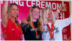 IKA Course Race World Championship 2013 - Podium Women