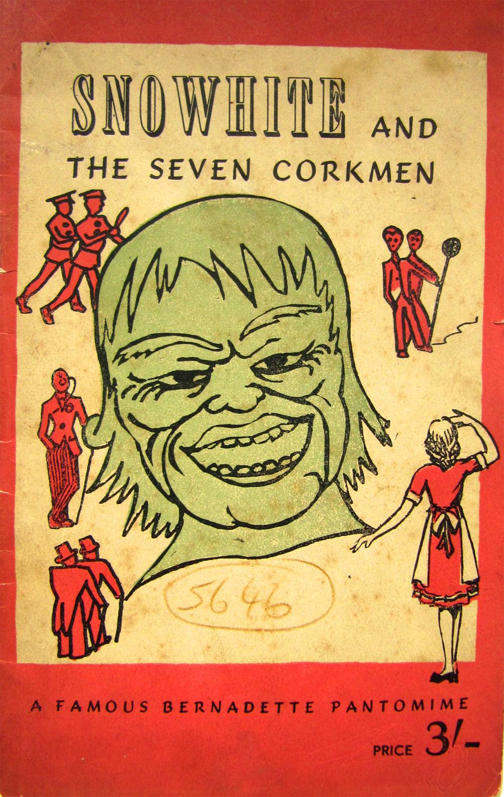 Snowhite and the Seven Corkmen
