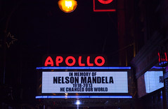 Apollo Marquee for Nelson Mandela