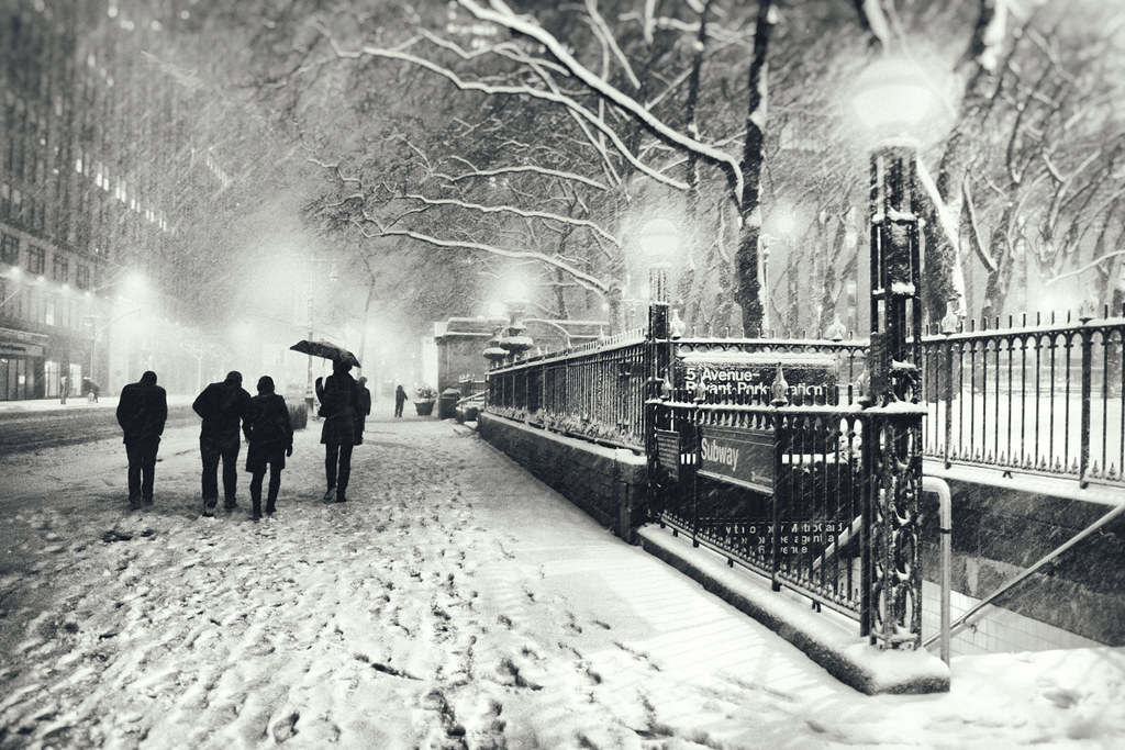 Snow In New York City Stunning Photography By Vivienne
