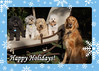 Tessa's Holiday Card by Annie Hart (Bill Foundation Dog Rescue)