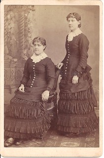 Two Victorian Ladies In Fairbury, Illinois